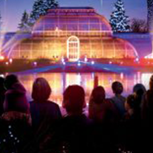 Kew Gardens Christmas Lights, Midway Motors, Coach Holidays
