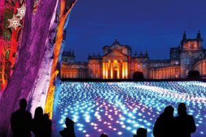 Blenheim Palace Lights, Coach Holiday UK, Luxury Coach Holidays, Coach Day Trips