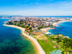 Santander City Beach, Coach Holidays to Europe from the UK, European Coach Holidays